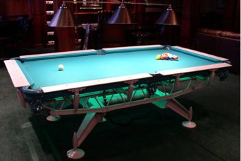 $100,000 Dynasty pool table 1