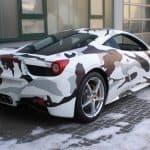 Ferrari 458 Italia Camouflage 4