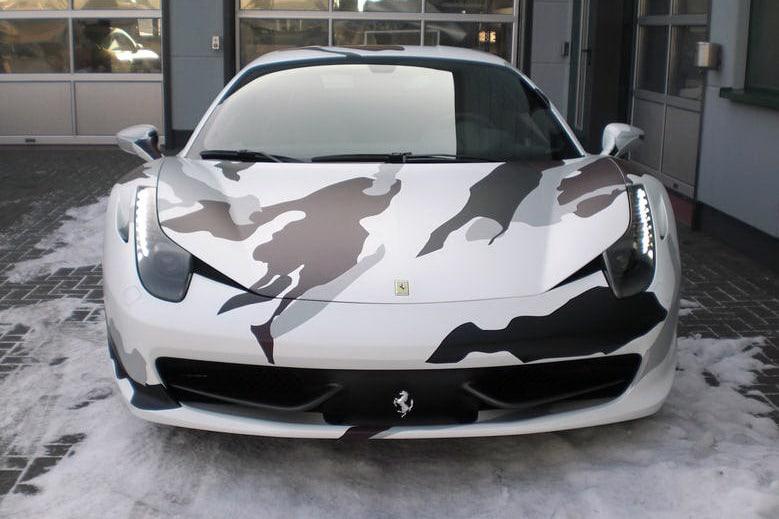Ferrari 458 Italia Camouflage 9