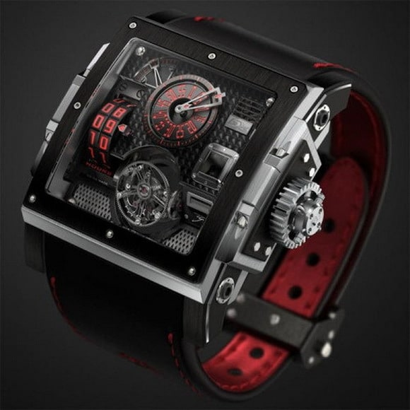 HD3 Complication Black Pearl watch 1