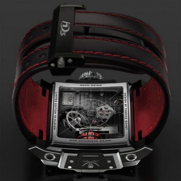 HD3 Complication Black Pearl watch 2