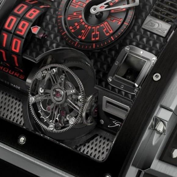 HD3 Complication Black Pearl watch 3