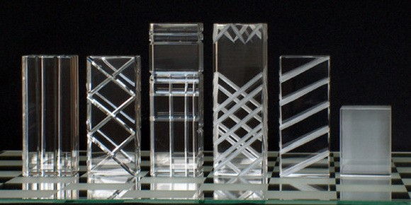 Refraction Crystal Chess Set 1
