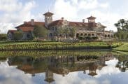 The completed clubhouse at the TPC Sawgrass in Ponte Vedra Beach