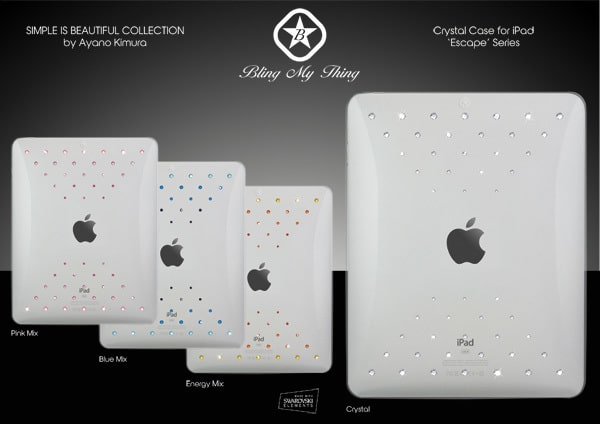 Ipad Swarovski case