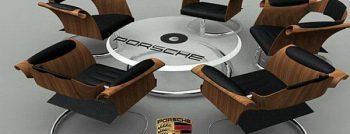 Jordan Ridgley Porsche seating area 1