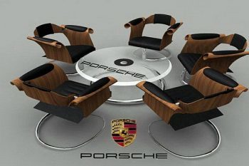 Jordan Ridgley Porsche seating area 1