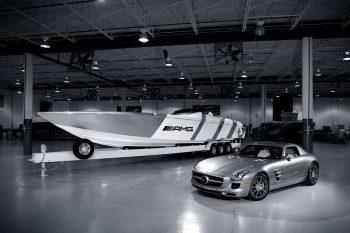 Mercedes SLS AMG Boat 1