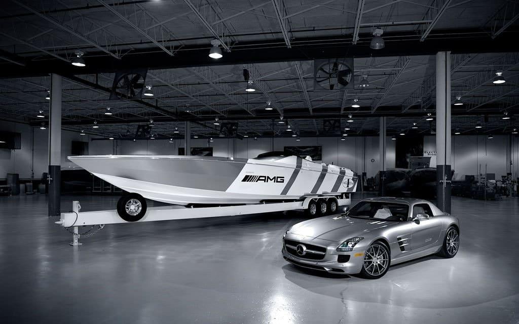 Mercedes SLS AMG Boat