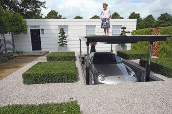 Hydraulic Underground Garage Parking 1