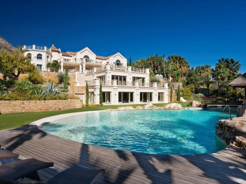 A magnificent estate from marbella spain - Luxury homes marbella ...