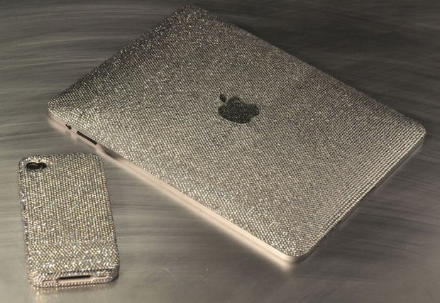 Crystograph iPad and iPhone 4 Ice