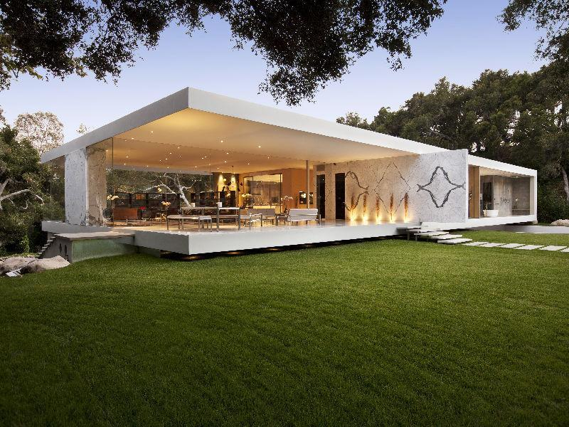 Glass Pavilion Home