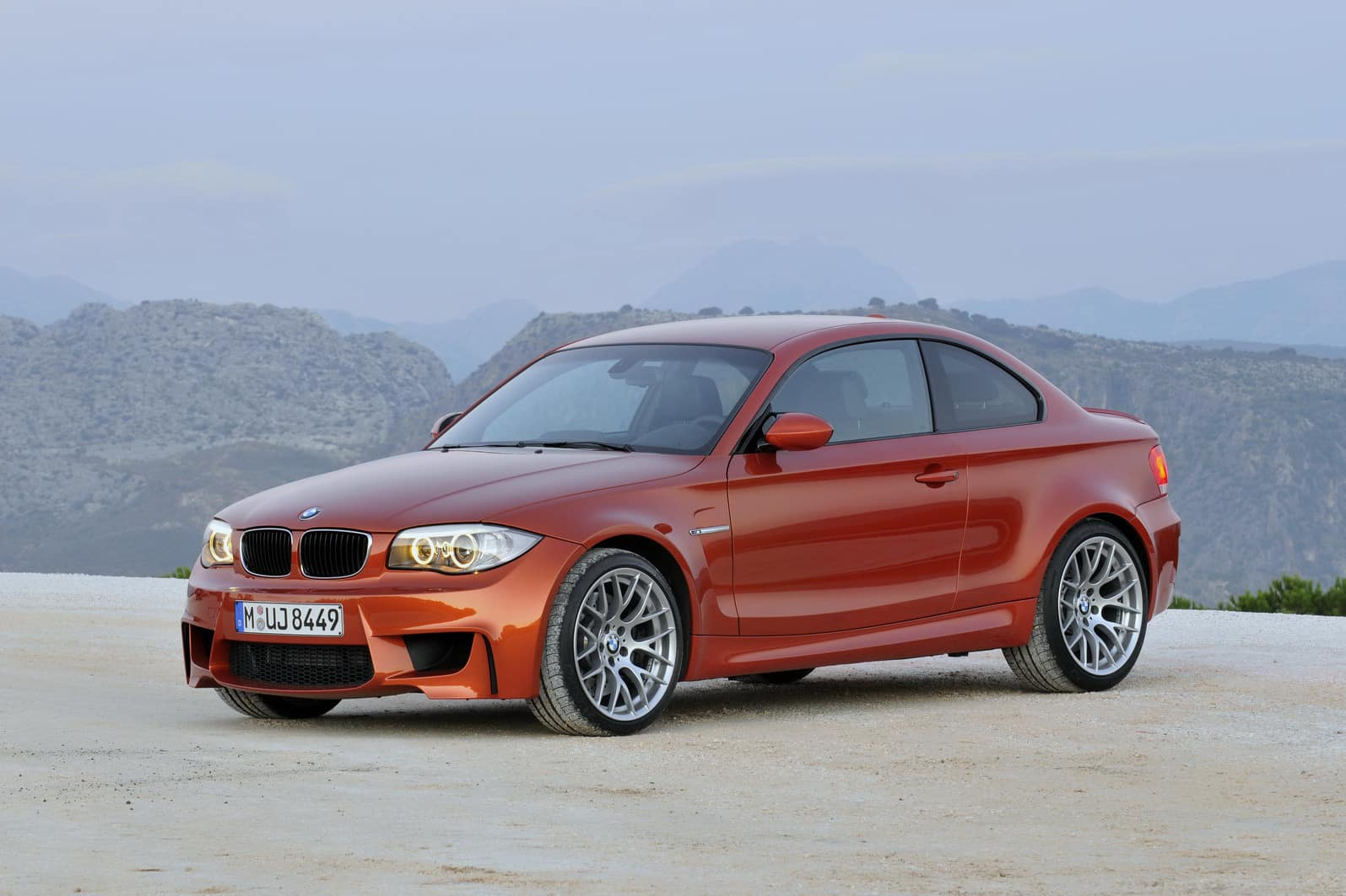 BMW unveiled the 2012 1-Series M Coupe