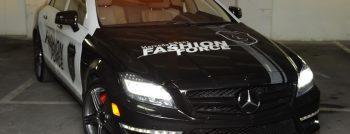 2012 Mercedes CLS 63 AMG Fashion Police Car