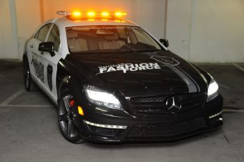 2012 Mercedes CLS 63 AMG Fashion Police Car