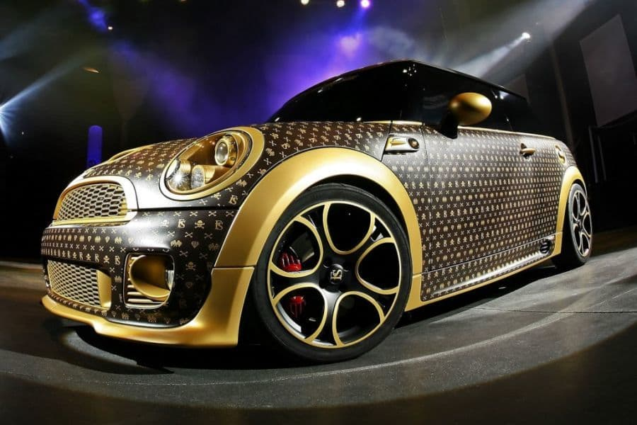 Coverefx Mini Cooper Gets The Louis Vuitton Look