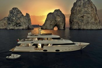 Ferretti Custom Line Navetta 33 Crescendo Yacht 1