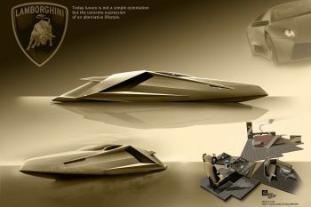 Mauro Lecchi Lamborghini Yacht