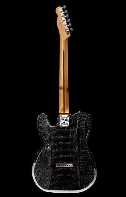 Rock Royalty KAGED Custom Alligator Guitar 4