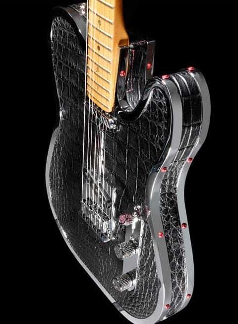 Rock Royalty KAGED Custom Alligator Guitar 6