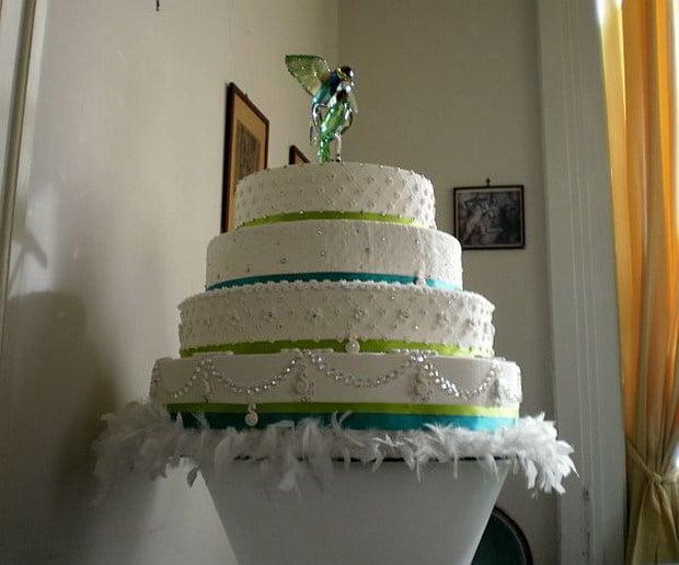 Swarovski Wedding Cake