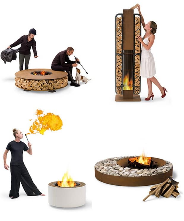 AK47 Outdoor Wood Fireplaces