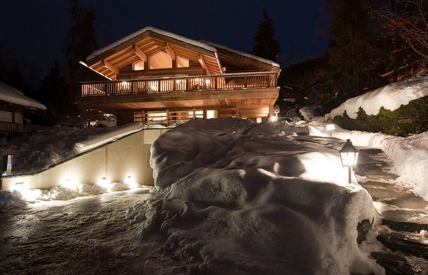 Luxurious chalet in Switzerland