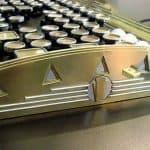 New Yorker Art Deco Keyboard 3