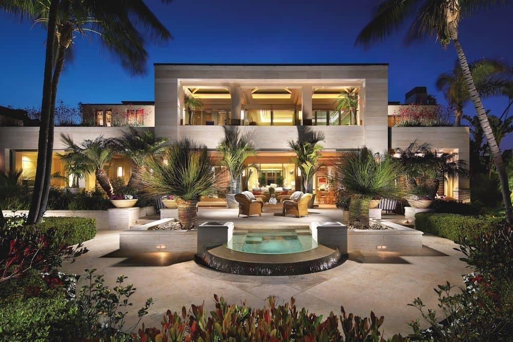 Amazing Waterfront Estate On Newport Beach California