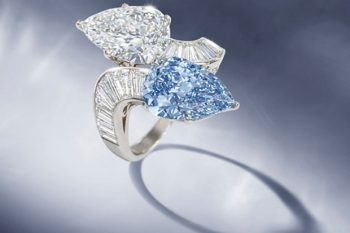 Bvlgari Blue Diamond Ring