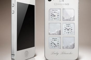 Gresso iPhone4 Lady Blanche 1