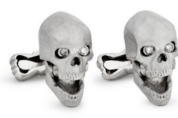 Ralph Lauren Purple Label Skull Cufflinks 1