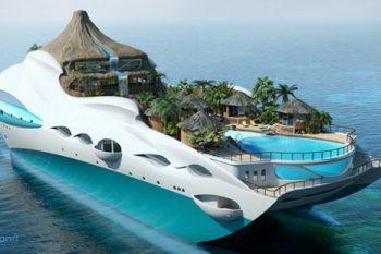 Tropical Island Paradise yacht 1