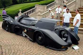 Turbine-powered Batmobile 1