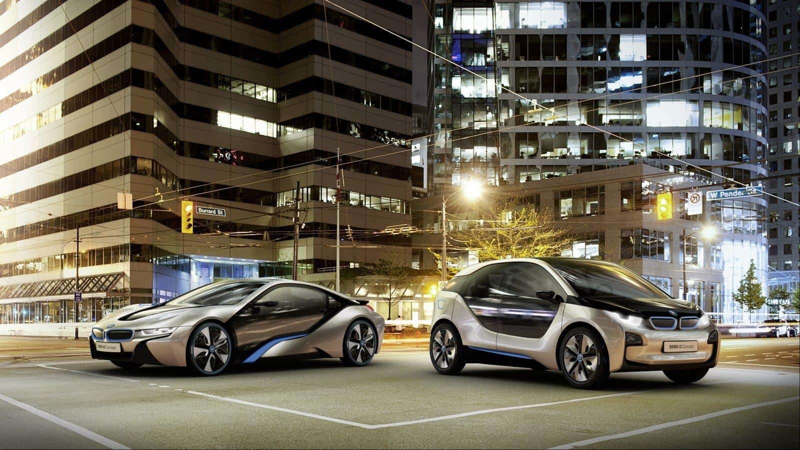 Bon BMW Has Officially Introduced Last Week The First Two Vehicles From Their  New Green Brand, I BMW, The BMW I8 And I3 Concepts That Will Be Launched On  The ...