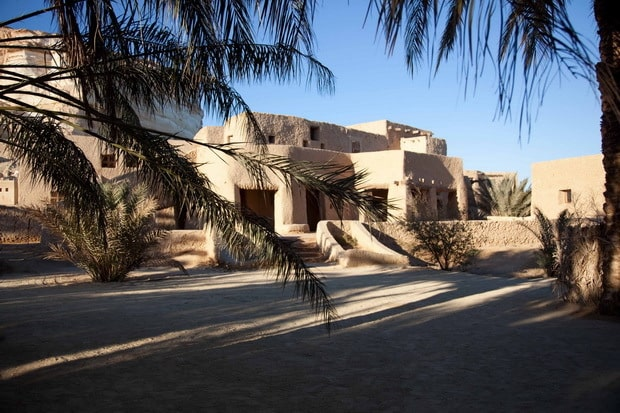Adrère Amellal eco lodge Egypt 1