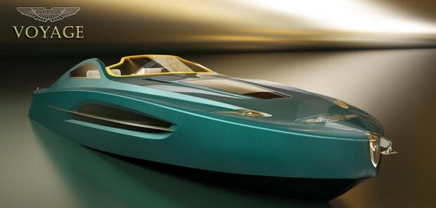 Aston Martin Voyage 55 Yacht Concept