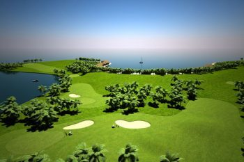 Floating Golf Course in Maldives 1