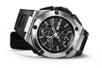 Ingenieur Double Chronograph Titanium from IWC 2