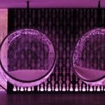 LED illuminated Bubble Chairs by Rousseau 4