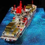 Love to the Rescue LEGO Sculpture 4