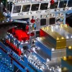 Love to the Rescue LEGO Sculpture 7