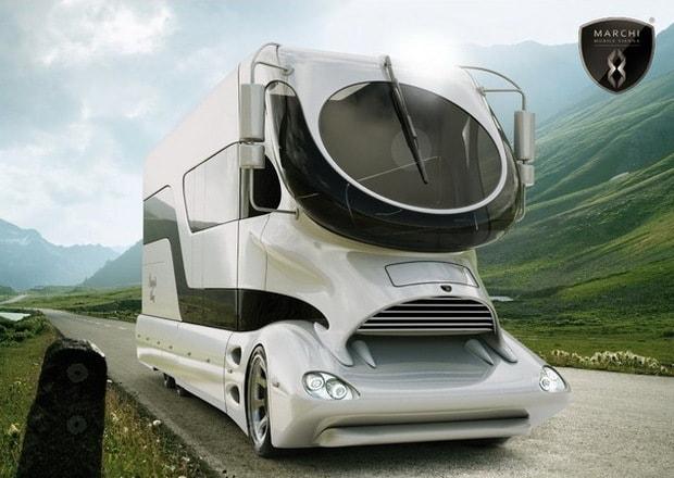 Amazing Luxury Camper Van By Marchi Mobile