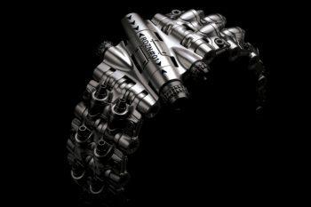 Rogue DZN Armadillo 161 Titanium Bracelet 1