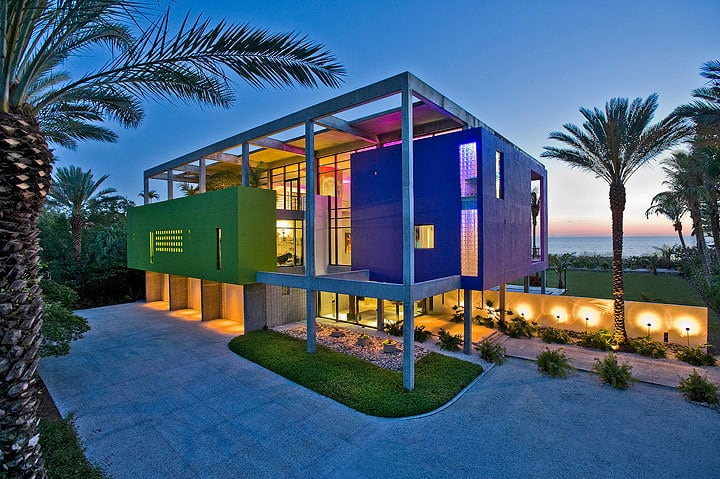 Award winning beach house in florida up for sale
