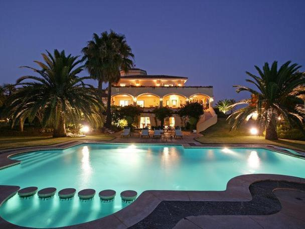 Villa In Spain With Games Room