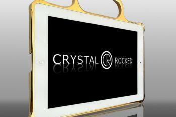 Gold Plated Ipad 2 Bumper Cases by Crystal Rocked 1