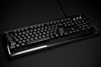 Great Industrialist chrome keyboard 1