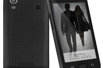 Samsung Galaxy Ace Hugo Boss Smartphone 1